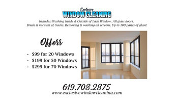 Window Cleaning Offers