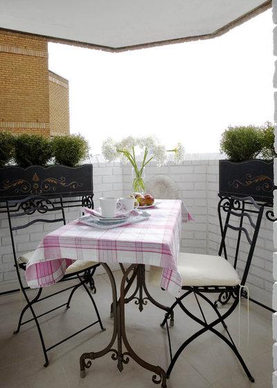 Eclectic Balcony by Celia James