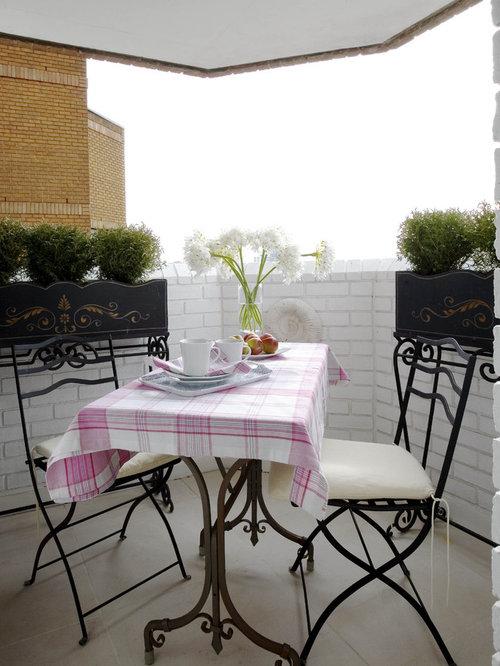 Enclosed Apartment Balcony | Houzz