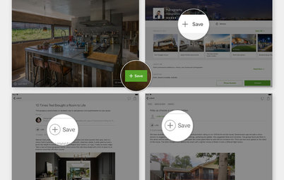 Houzz News: Now You Can Save All Your Ideas in One Place!