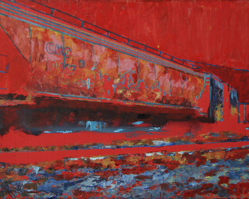 """""""Iron Horse"""" - AVAILABLE - Paintings"""