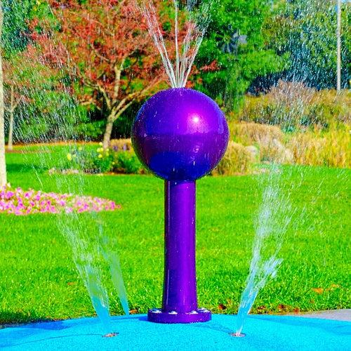 Elegant Portable Splash Pad For Your Backyard