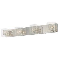 Fabulous Contemporary Bathroom Vanity Lighting by LBC Lighting