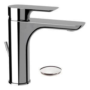 Infinity Wash Basin Mixer Tap, 17.20 Cm, Waste Plug Included