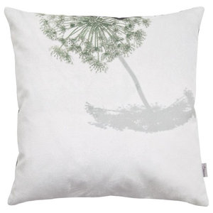 A.U. Maison Natural Botanical Cushion Cover, Hogweed