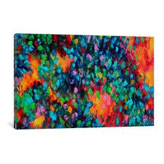"""Color Blast Gallery"" by Megan Duncanson, 40x26x0.75"""