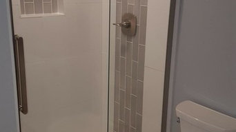 Standup shower install