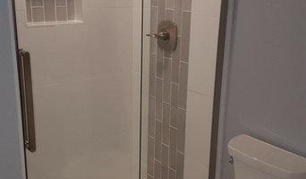 Standup shower install