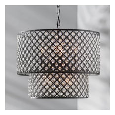 Mercury 8-Light Drum Chandelier