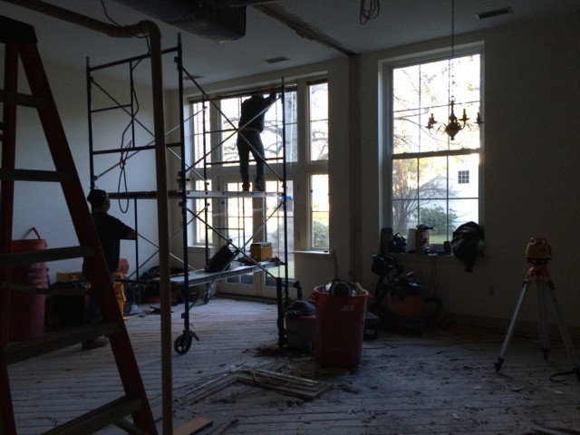 home design school. The project was a full gut job  including plumbing removing asbestos tile from the original school adding proper insulation and soundproofing ceiling Houzz Tour Life in Converted School Building