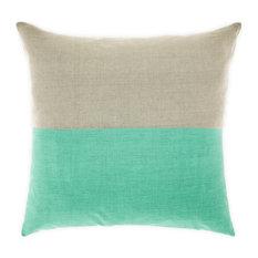 - Dipped Cushion, Mint - Decorative Cushions