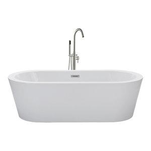 "Contemporary Freestanding Bathtub, 67"""