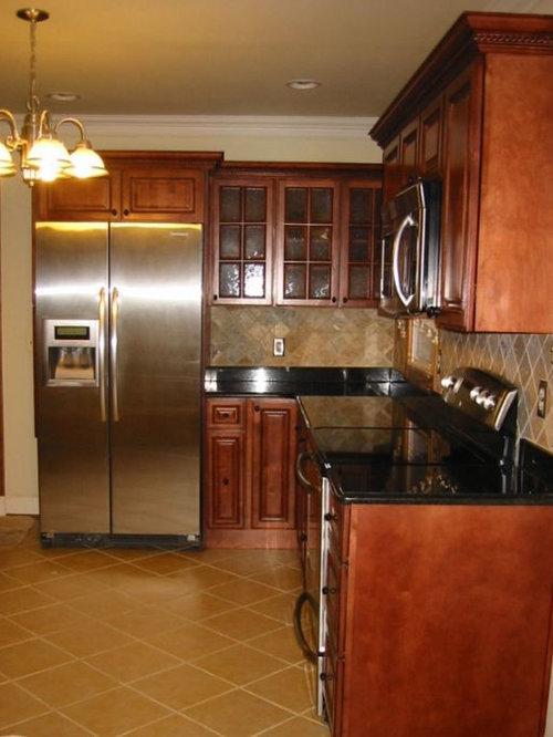 Sienna rope kitchen for Kitchen cabinets king