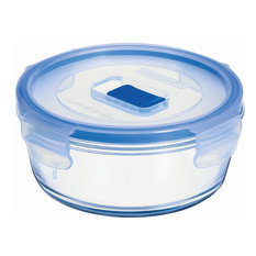 Luminarc Pure Box Active Round Food Container With Lid, 67 cl.