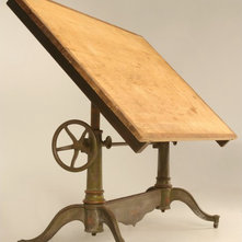 Traditional Drafting Tables By Old Plank Road