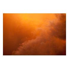 """""""Fire Clouds"""" Landscape Photograph on Canvas, 32x48"""