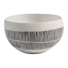 """""""Marquesa"""" 10.5"""" Diameter Ceramic Decorative Bowl"""