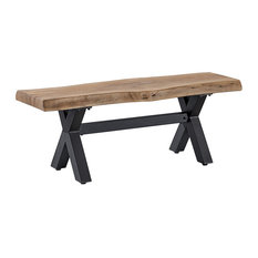 OVE Decors Bali 48 in. Woodlook Bench