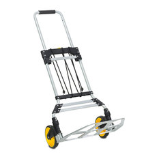 Folding Hand Truck and Dolly With Telescoping Handle, 264Lb Capacity