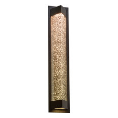 Wedge Led Light Outdoor Fixture - Bronze, Large