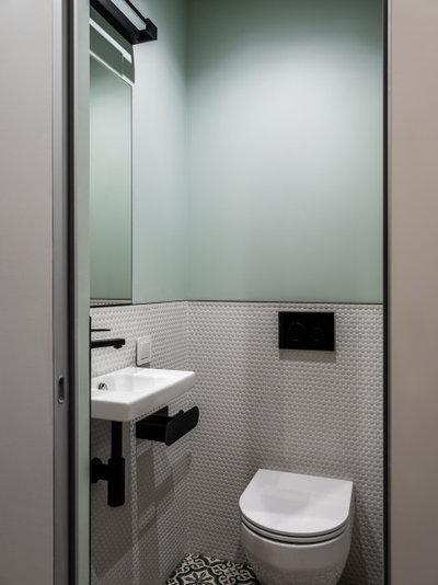 Современный Туалет by Казанцева Татьяна