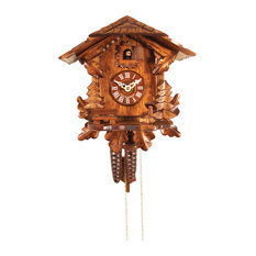 Engstler Weight-Driven Cuckoo Clock, Full Size