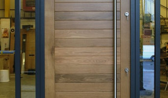 Oak Front Door - Satini Large in Oak Colmar