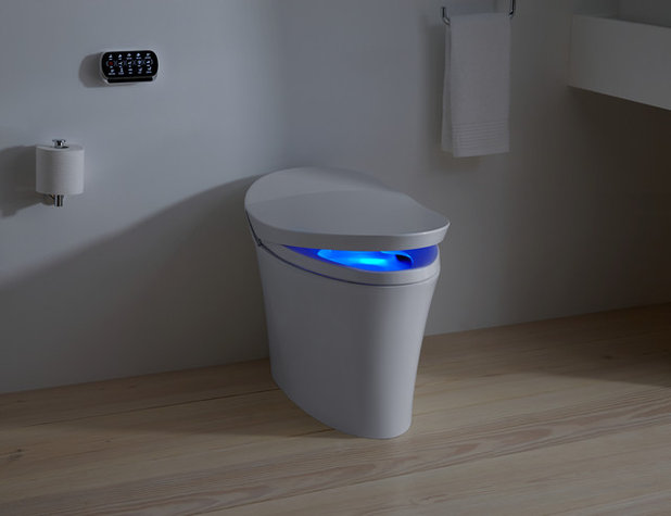 Elegant Straight Flush: High Tech Toilets Usher Homes Into The Future Great Ideas