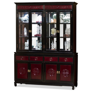 Ashur Display Cabinet Victorian China Cabinets And Hutches By Infinity Furniture