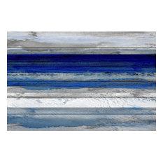 """Tarrafal"" Print on White Wood, 60""x40"""