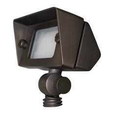 "Sunset Lighting FG2552 1 Light 3-5/8""W Integrated LED Landscape, Bronze Agate"