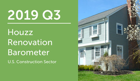2019Q3 Houzz Renovation Barometer - Construction Sector