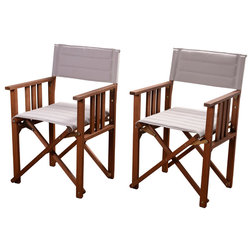Craftsman Outdoor Folding Chairs by International Home Miami Corp