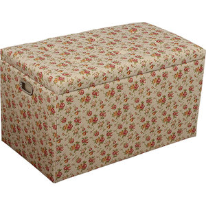 Fine 5 Piece Cloth Storage Ottoman Stools 3 Ottomans And 2 Ocoug Best Dining Table And Chair Ideas Images Ocougorg