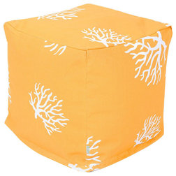 Beach Style Outdoor Footstools And Ottomans by Majestic Home Goods, Inc.