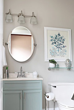 Does Bath Vanity 2 Light Bar Look Silly Over Arched Frameless Mirror