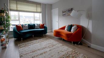 'Elegant simplicity' sitting room