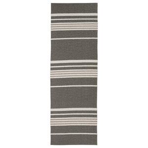 Trail Woven Vinyl Floor Cloth, Grey, 150x210 cm