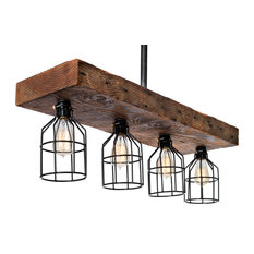 100 Year Old Reclaimed Rustic Wood Light