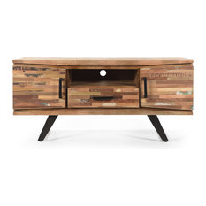 Dorset Handcrafted Boho Reclaimed Wood TV Stand
