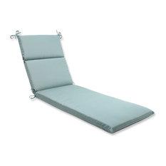 Chaise Lounge Cushion With Sunbrella Fabric, Blue