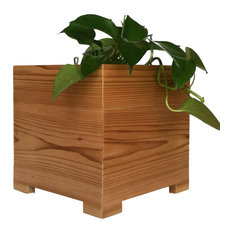 Mod Cedar Planter, Small