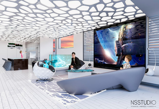 House of the Future Living Space