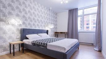 Ремонт в скандинавском стиле, 46м²