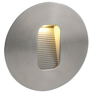 Round Stainless Steel LED Wall/Step Light