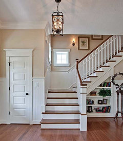 Conseils pour relooker un escalier ch ne sans peindre les - Escalier contremarche peinte ...