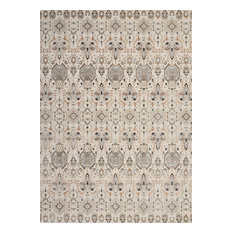 Nourison Kathy Ireland Silver Screen Area Rug, Gray/Slate, 9'x12'