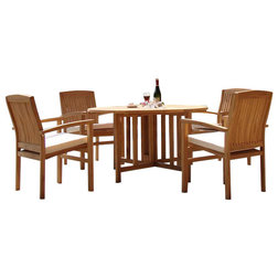 Great Contemporary Outdoor Dining Sets by Teak Deals