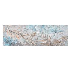 """Dainty Little Leaves"" Hand Painted Canvas Artwork; Fine Art; Modern; Floral"