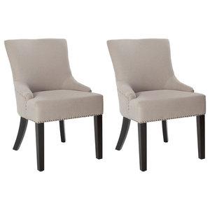 Safavieh Piper Dining Chairs, Set of 2, Ecru